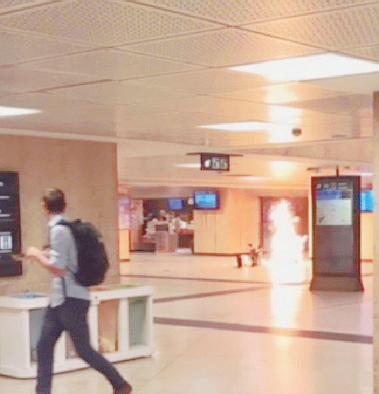Kamikaze alla stazione, strage sfiorata a Bruxelles