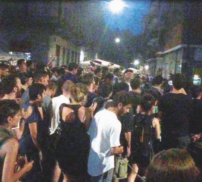 Cariche contro i locali, a Torino scene anni 70