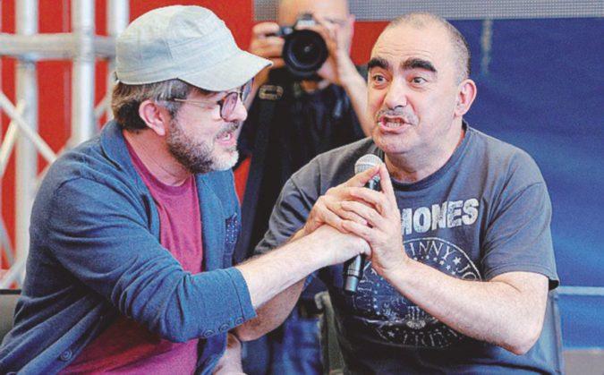 Il debutto di Elio e Rocco dai Monty Python