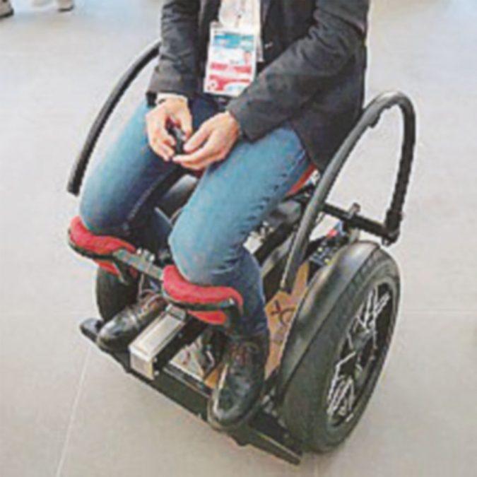 Al G7 dei trasporti l'innovazione su due ruote a misura di disabile