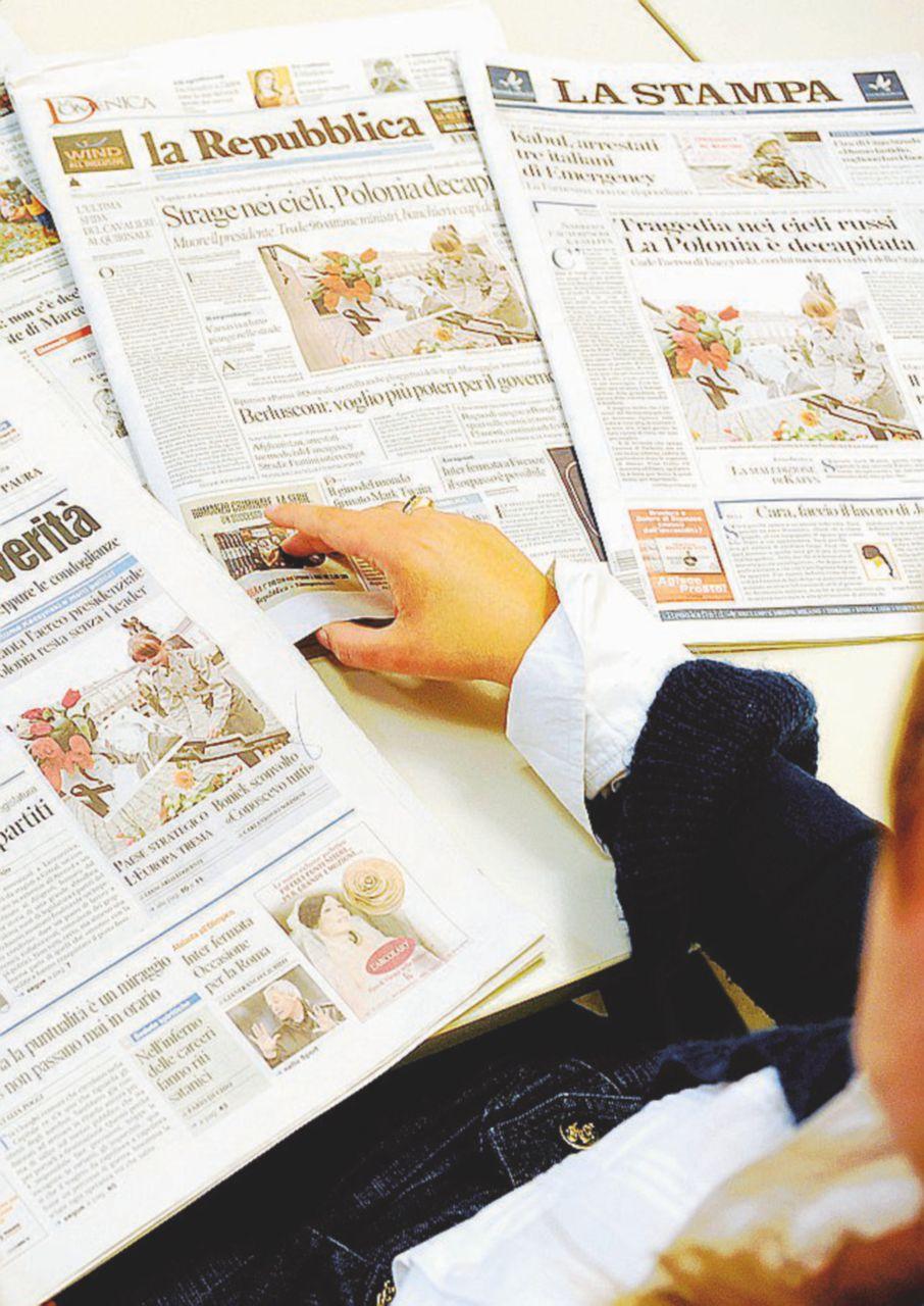 """L'inchiesta """"in sonno"""" sui ras dei giornaloni"""