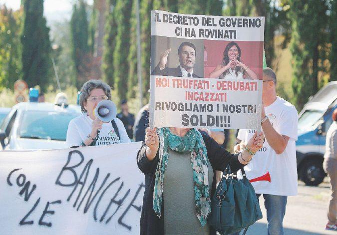 "Venete, soluzione  ""Etruria"": col bail-in in fumo 5 miliardi"