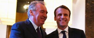 Francia, si dimette anche il ministro della Giustizia Bayrou. Oggi il nuovo governo
