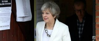"""Elezioni Gran Bretagna 2017, May: """"Nuovo governo per un Paese sicuro e la Brexit"""". Accordo con unionisti nord-irlandesi"""