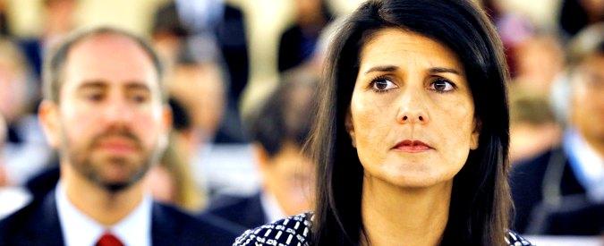 """Gerusalemme, Onu condanna la decisione di spostare ambasciata Usa. Haley, nuova minaccia: """"Ci ricorderemo questo voto"""""""