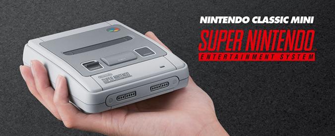 Super Nintendo: torna sugli scaffali in versione mini con 21 giochi inclusi