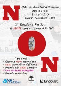 """Festival del non giornalismo, domenica la seconda edizione. Dedicata a """"non notizie"""" e fake news"""