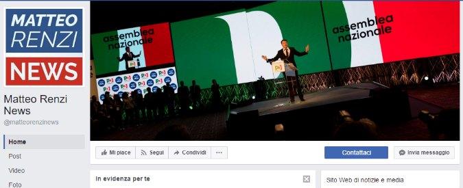 Matteo Renzi, un membro del suo staff dietro la pagina fan dell'ex premier. Epic fail in un commento su Facebook