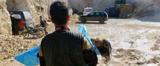 """Siria, Opac: """"Usato gas nervino sarin per l'attacco a Khan Sheikhoun"""""""