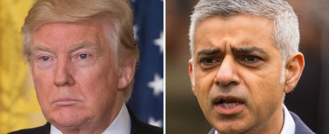 """Londra, il sindaco Khan chiede al governo di annullare la visita di Trump: """"Fa il gioco dell'Isis. È da ignorante"""""""