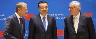 Summit Ue-Cina, Tusk: 'Errore storico degli Usa sul clima, noi proseguiamo insieme'. Ma resta il nodo del commercio
