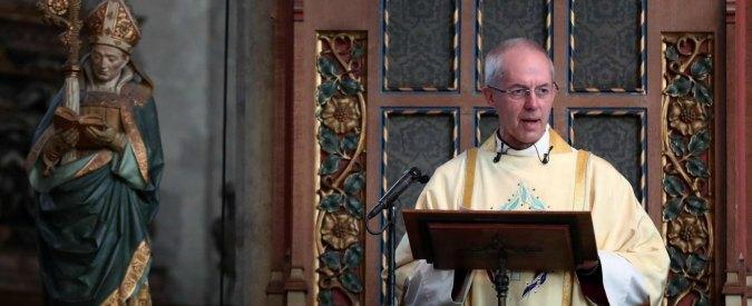 """Inghilterra, la denuncia dell'arcivescovo di Canterbury: """"Insabbiati abusi sessuali della Chiesa"""""""