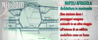 """Afragola e la stazione inaugurata per la quinta volta. Quando la politica assicurava: """"Taglio del nastro nel 2011"""""""