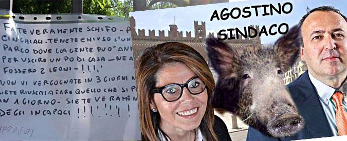 Piacenza, la città in ostaggio del cinghiale Agostino: parco chiuso in piena estate (e campagna elettorale)