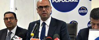 """Legge elettorale, Alfano (Ap): """"Riforma è incostituzionale. Elezioni anticipate? Non le porta la cicogna, ma il Pd"""""""