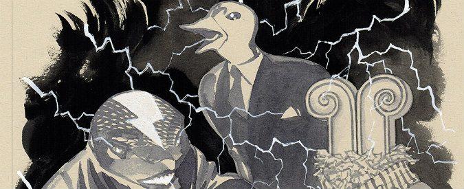 Bazar elettrico, un saggio a fumetti per raccontare la filosofia del '900