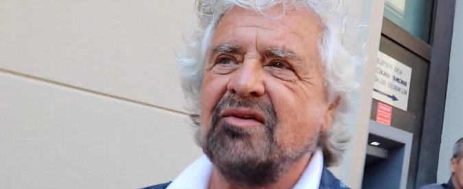"""Antifascismo, Grillo: """"Il Pd vuole colpire le opinioni e il M5s. Fascista è mettere la fiducia sul decreto banche Venete"""""""