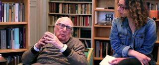 """Camilleri agli studenti: """"Non cadete nell'antipolitica e nel populismo. Tenete lontano Renzi e M5s dal vostro avvenire"""""""