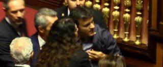 """Ius Soli, Centinaio (Lega) insulta Grasso: """"Sei un infame"""" e """"terrone di merda"""""""