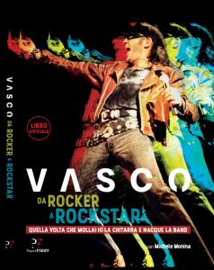 """Vasco Rossi, il libro ufficiale """"Da rocker a rockstar"""". L'estratto: """"Sul palco devi essere sicuro. Se sei goffo ti squalifichi"""""""