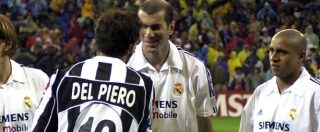 Juventus – Real Madrid, dal gol di Mijatovic all'omaggio a Del Piero: storia dello scontro tra due nobili del calcio
