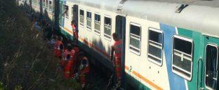 """Lecce, scontro tra treni delle Ferrovie Sud-Est: """"15 feriti non gravi, uno dei due convogli è partito con il semaforo rosso"""""""