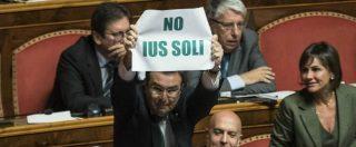 """Ius soli affossato al Senato: non è in calendario. Pd: """"Non c'è maggioranza"""". M5s: """"Bene, serve referendum"""""""