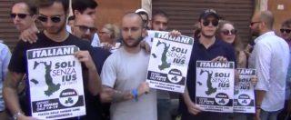 """Ius Soli, in piazza il fronte del No. Gasparri: """"Autentica follia"""". Alemanno: """"Bambini mercificati, cittadinanza cosa seria"""""""