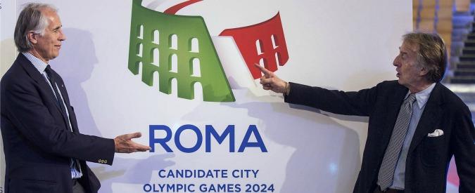 Roma 2024, restano solo le grane: gara per la cerimonia di presentazione del logo fu affidata 24 ore dopo l'evento
