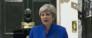 """Elezioni Uk, May: """"Farò nuovo governo per Brexit. Accordo con Unionisti"""""""