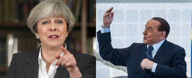 Elezioni Uk, meno male che Theresa c'è! Il berlusconismo è sbarcato nel Regno Unito