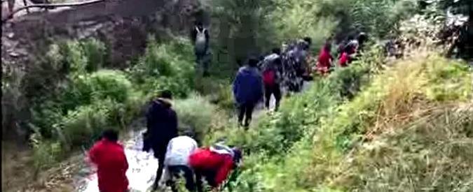 Ventimiglia, migrante tenta di arrivare in Francia scalando il Col de Mort e resta intrappolato. Salvato dai vigili del fuoco