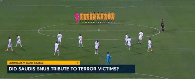 Attentato Londra, Nazionale Arabia Saudita non rispetta minuto silenzio per vittime