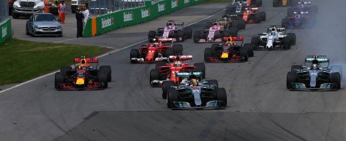 F1, Gp Canada: Vettel conquista punti grazie a un gran finale, ma Ferrari giù dal podio. Trionfo indisturbato di Hamilton