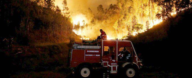 Maxi rogo in Portogallo, il riscaldamento globale c'entra eccome
