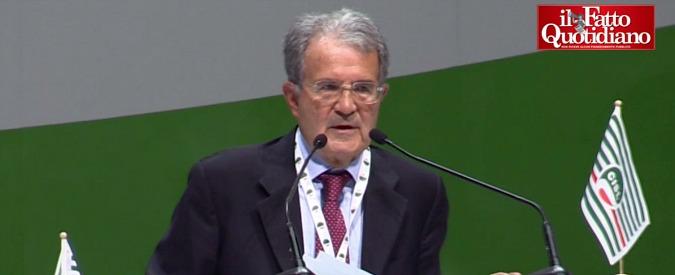 """Consip, Prodi: """"Complotto? Non esageriamo. Vero problema del Paese è la frammentazione"""""""