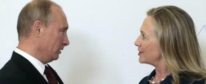 """Usa, Washington Post: """"Da Putin istruzioni agli hacker per danneggiare Hillary Clinton. La Cia ha le prove"""""""