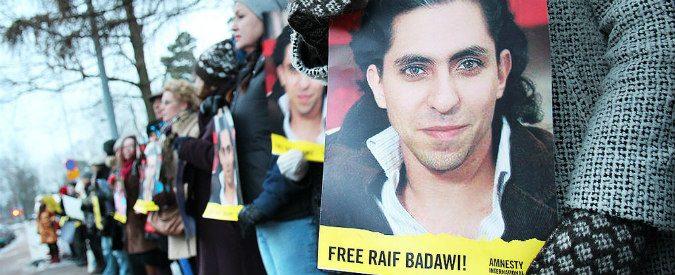 Raif Badawi, l'appello per l'attivista. Condanna a 10 anni per un forum online