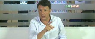 Renzi in rassegna stampa attacca il Fatto e Massimo Fini: 'Non saremo mai come loro'