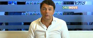 """Migranti, Renzi: """"Serve il numero chiuso"""" Salvini: """"Se lo dico io sono razzista"""""""