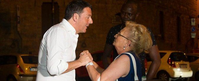 Il Pd è affetto da sindrome di Stoccolma: ama il suo aguzzino Renzi