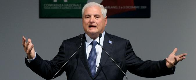 """Stati Uniti, arrestato l'ex presidente di Panama Martinelli: """"Spionaggio illegale"""". L'amico di Lavitola e di Berlusconi"""
