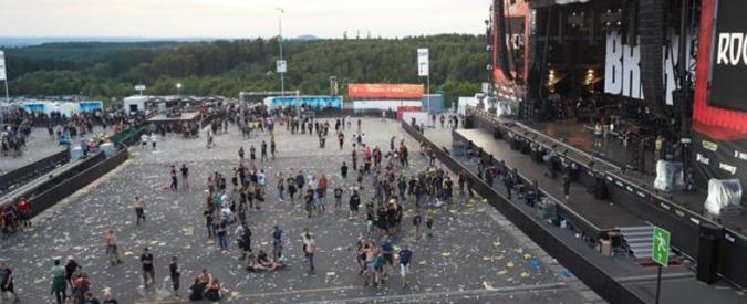 """Germania, riprende """"Rock am Ring"""" dopo evacuazione. Era stato sospeso per 'sospetti legati a terrorismo in backstage'"""