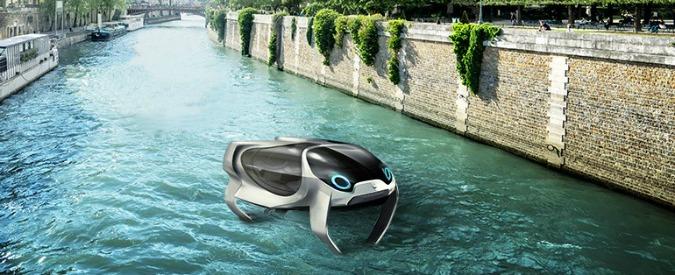 Seabubbles, a Parigi il traffico si vince volando sull'acqua. E domani nel cielo – VIDEO