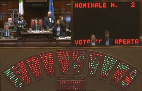Legge elettorale il patto va sotto al primo voto segreto for Votazioni alla camera