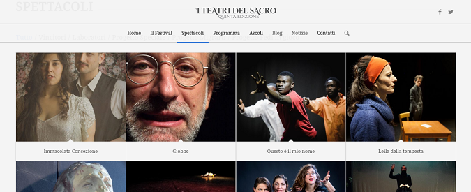 I Teatri del Sacro, ad Ascoli il festival laico che parla alle coscienze