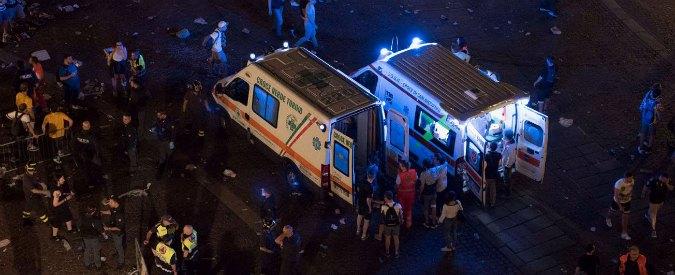 Torino, 1527 feriti: 3 gravi tra cui bimbo. Inchiesta per procurato allarme. Appello Questura: chi ha informazioni ci contatti