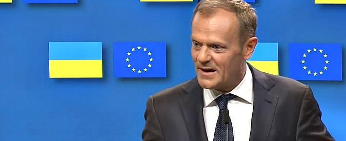 """Dazi, Consiglio europeo: """"Decisione di Trump deplorabile. Esenzione temporanea dell'Ue non basta"""""""""""