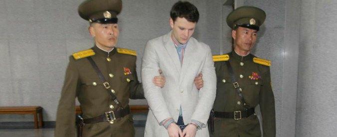 """Corea del Nord, rimpatriato cittadino Usa detenuto a Pyongyang: è in coma. """"Causato da un sonnifero"""""""