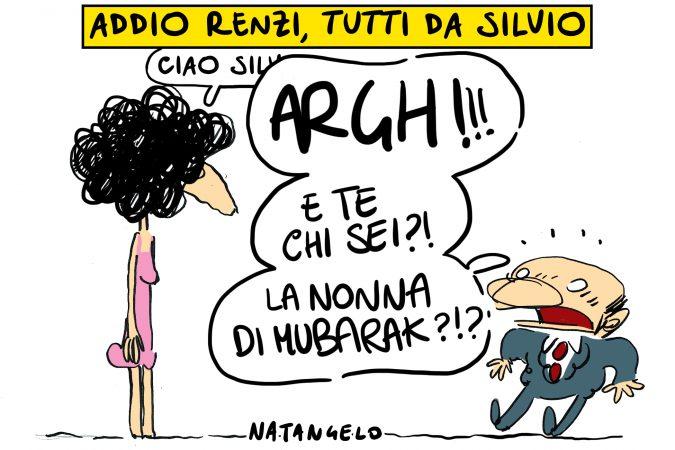 Tutti mollano Renzi